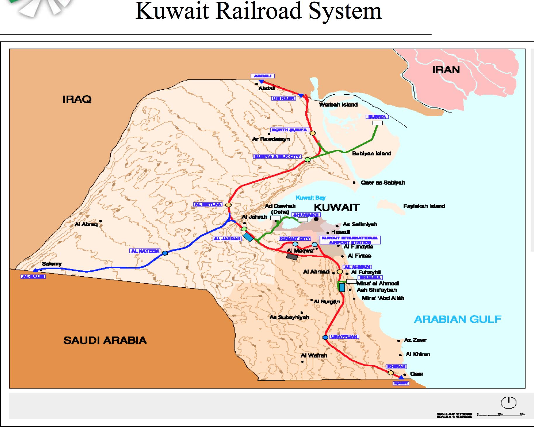Kuwait Railroad